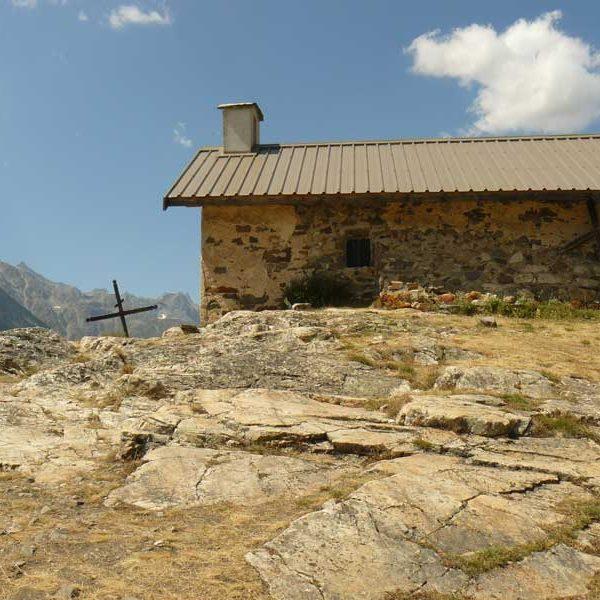 Le Monêtier chapelle du Puy du Cros