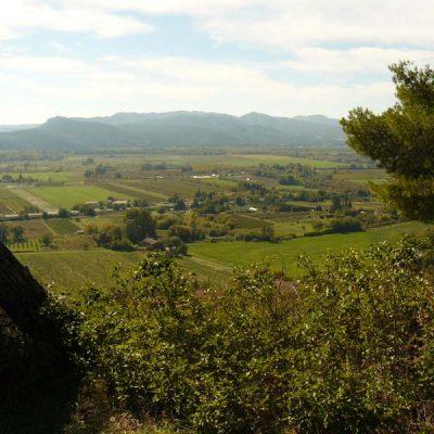 Vue sur la chaîne des Côtes