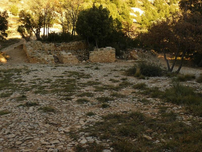 Sainte-Victoire l'aire de battage près du refuge Cézanne
