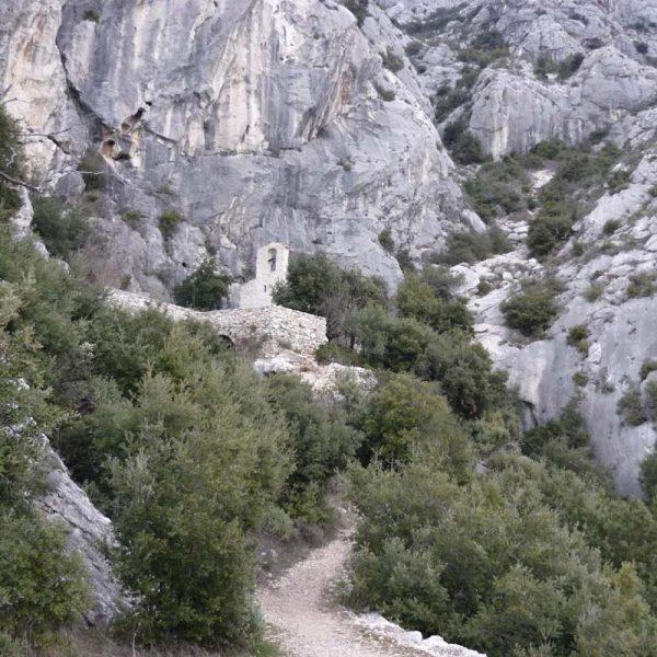Sainte-Victoire chapelle Saint-Ser