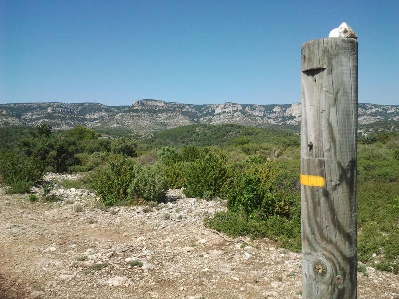 Randonnée dans le Petit Luberon à Cheval-Blanc