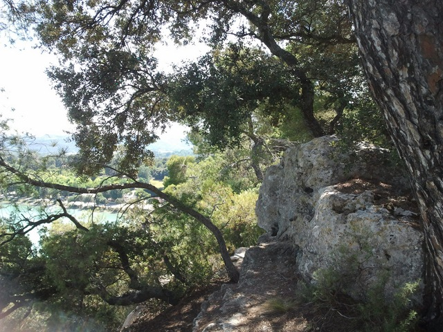 Etang de la Bonde rochers