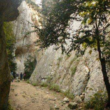 Randonnée dans les gorges du Régalon