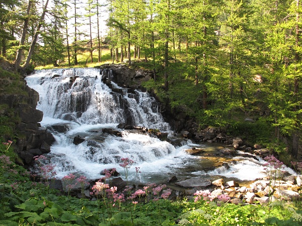la-claree-nevache-cascade