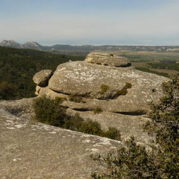 Balade sur les hauteurs de Lamanon et aux grottes de Calès
