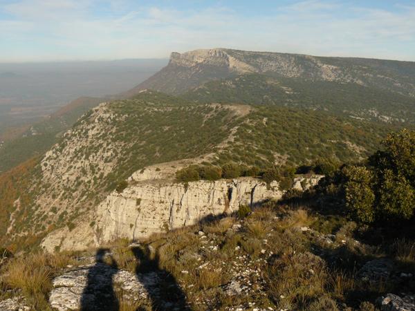 Rando TretsVue sur les Monts Auréliens depuis le sommet du mont Olympe