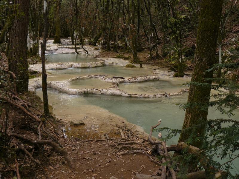 Les sources de l'Huveaune en partant de Nans-les-Pins