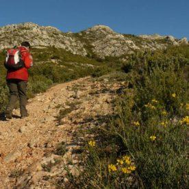 Sainte-Victoire le sentier Imoucha, le Pas de l'Escalette et le refuge Cézanne