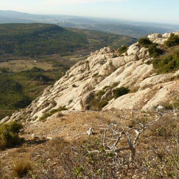 Sainte-Victoire : circuit carrière de marbre refuge Baudino
