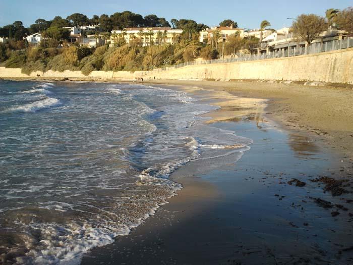 plage de portissol sentier bord de mer sanary