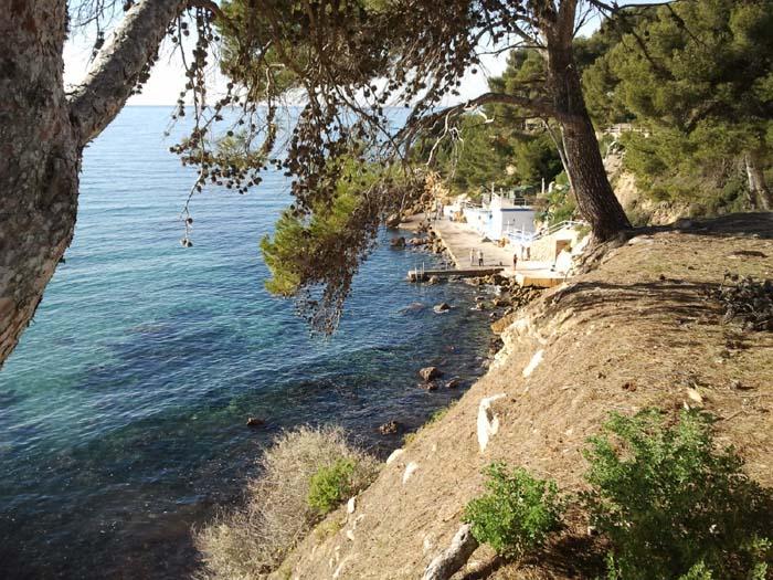 sentier bord de mer sanary