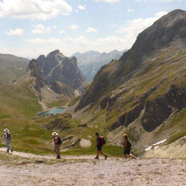 Le Grand Lac depuis le Col de la Ponsonnière