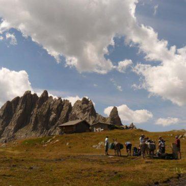 Randonnée vers le  col de la Ponsonnière dans les Alpes