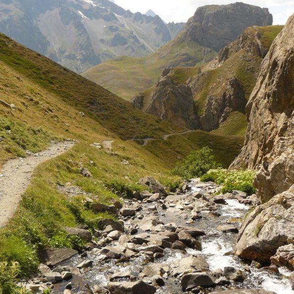 torrent du Rif vers pont de l'Alpe