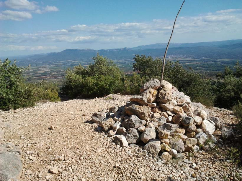 Cairn à proximité de Baudino