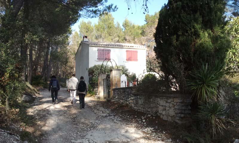 Vers la Trévarès à Saint-Cannat