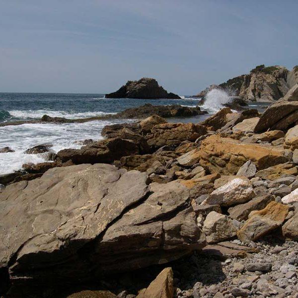 plage rocheuse Calanque des Anthénors