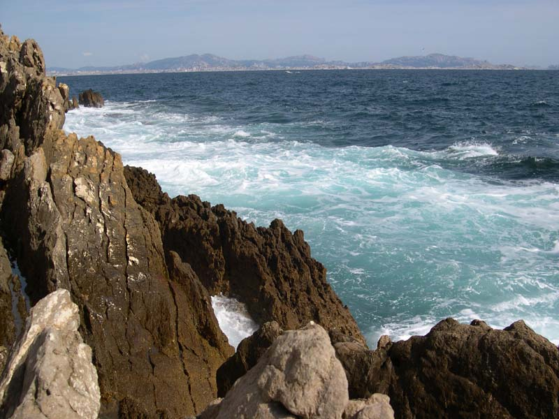mer Ensuès la Redonne Calanque des Anthénors