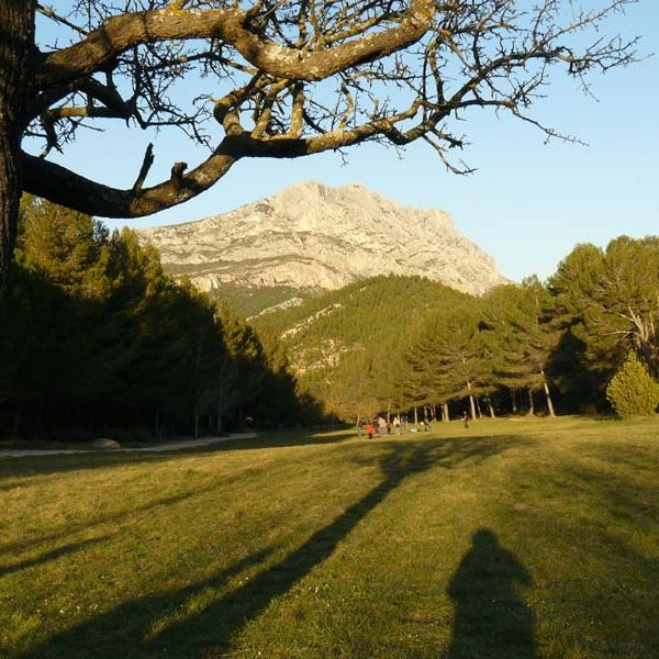 sainte-victoire espace de Roque-Haute