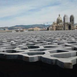 cathédrale de la Major à Marseille depuis le Mucem