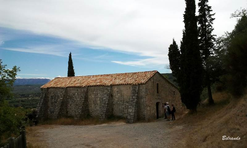 La chapelle du puy sainte réparade