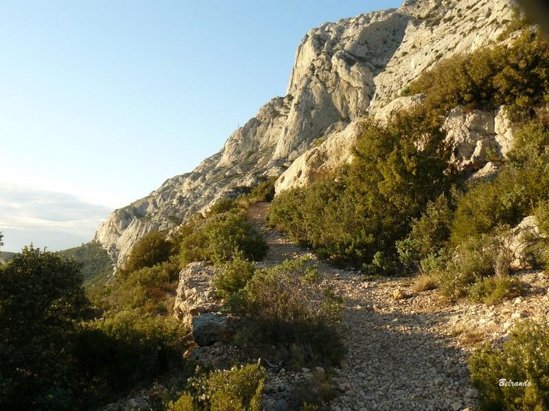 Sentier vers la Marbrière