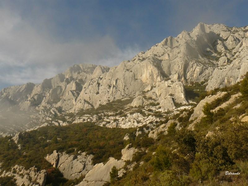 falaise sud de sainte-victoire