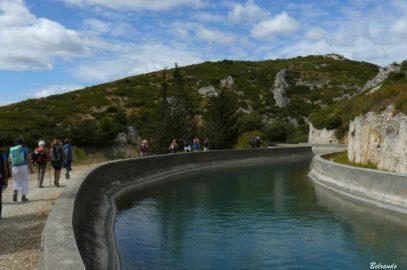 Balade sur les collines de Coudoux et le long du canal de Marseille
