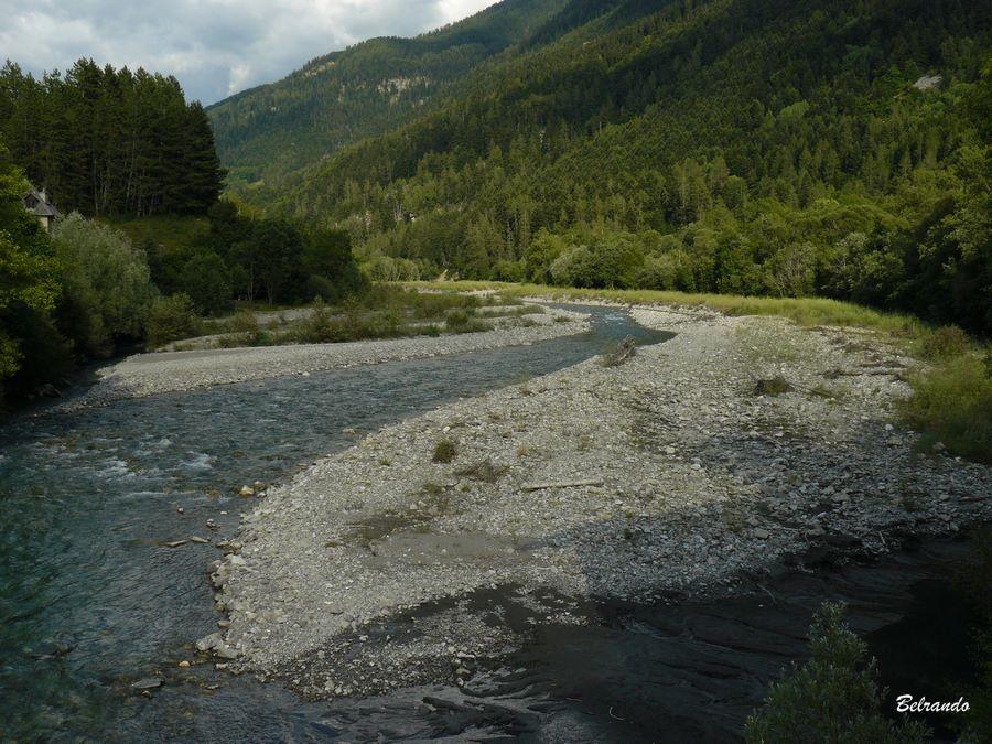 vue de la rivière le Drac