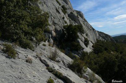 Sainte-victoire site d'escalade