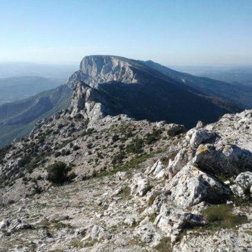 Randonnée panoramique de Puyloubier au Pic des Mouches