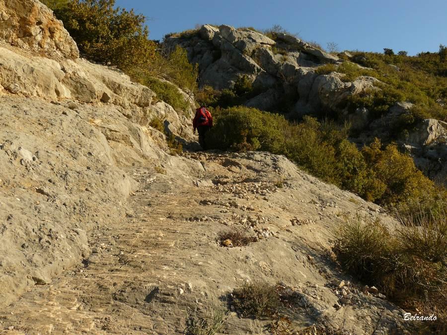 rochers sentier