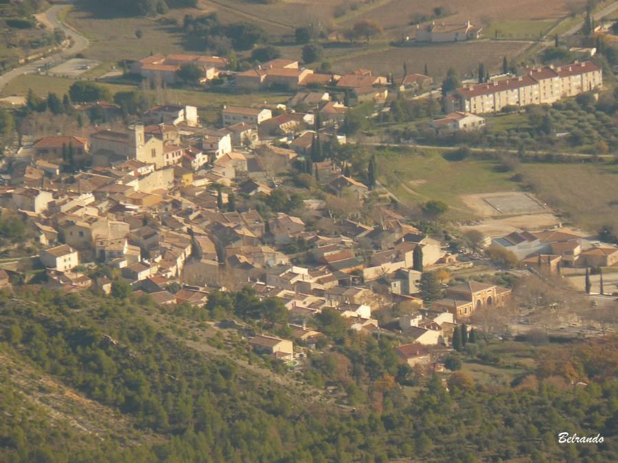 Zoom sur Puyloubier.