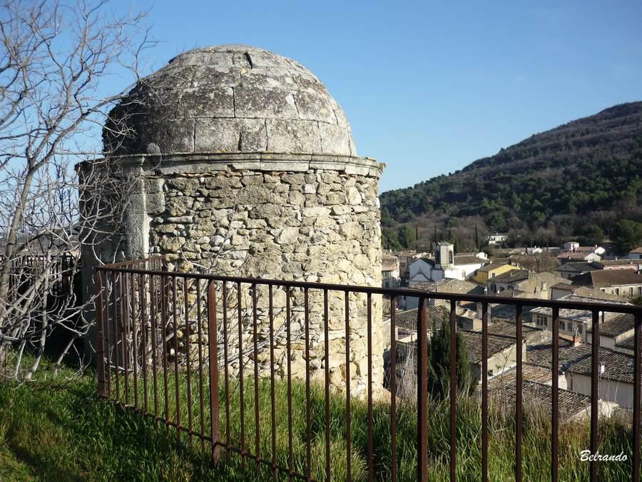 La tour du château et sa coupole