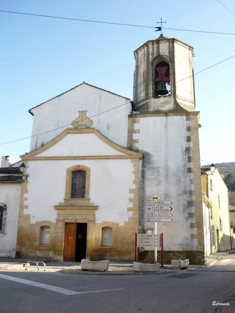 L'église Saint-Pons située place Borrély