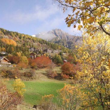 La station Chaillol 1600 en automne