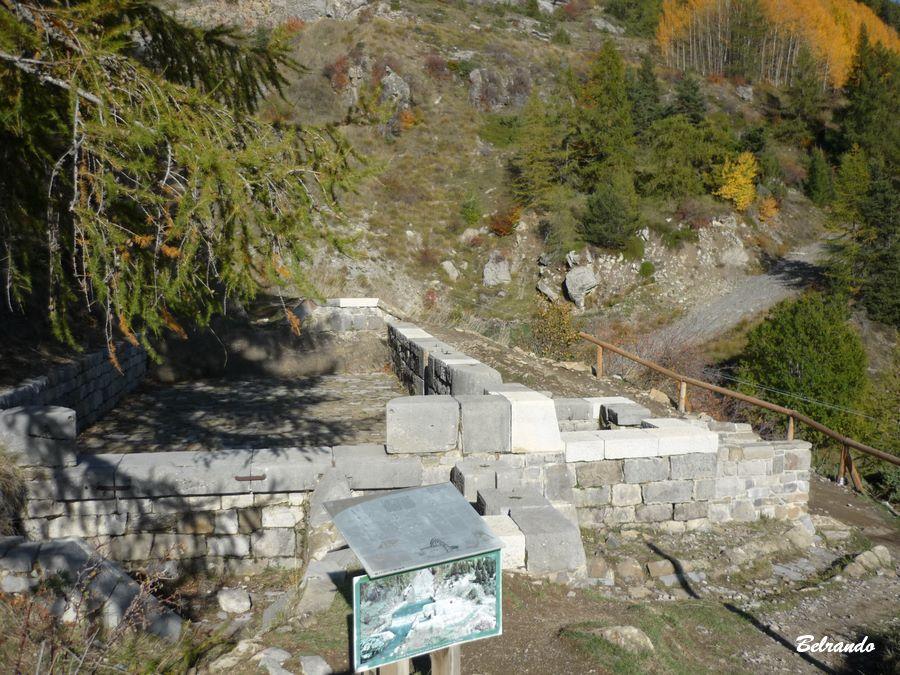 Bassin de répartition des eaux restauré par les passionnés de la l' association Malcros 28 18