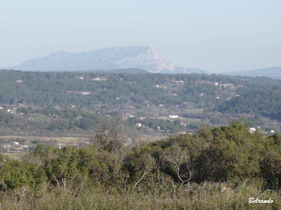 Vue sur la Sainte-Victoire