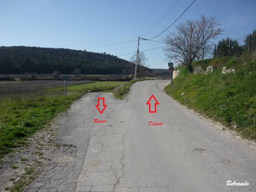 Chemin de Boulidou flèches