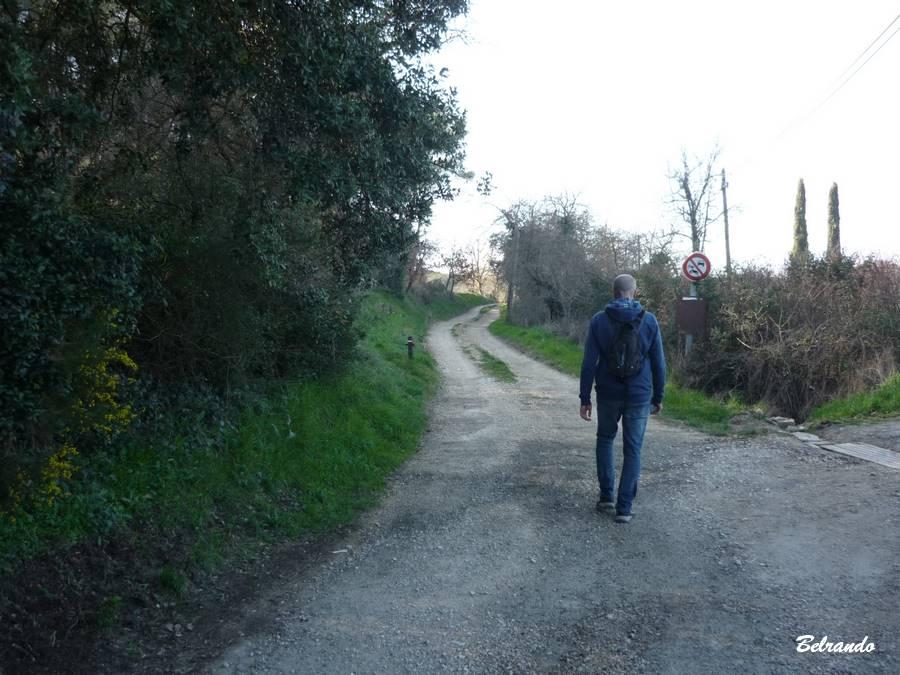Fin du chemin du Boulidou