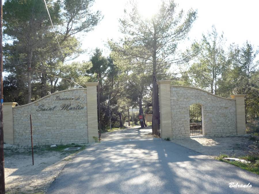 Domaine Saint-Martin entrée
