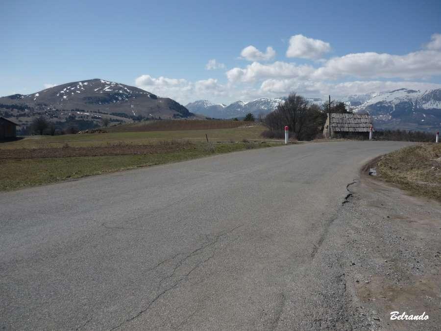 Route D13 Ancelle