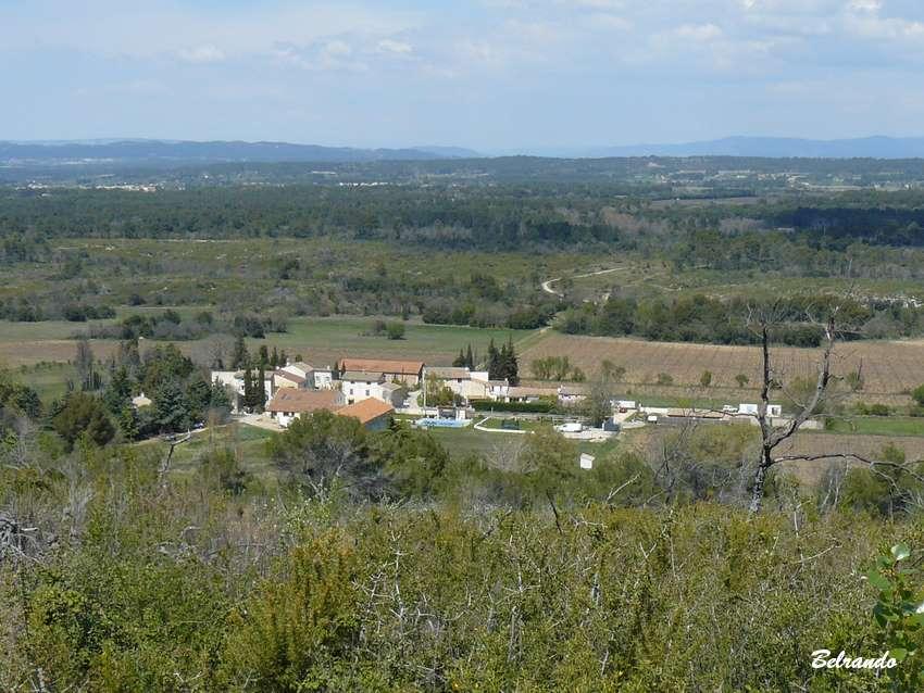 Vue sur le hameau de Camaïsse